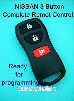 NISSAN xtrail pathfinder murano Tiida Remote Control 3 Button