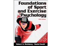 Foundations of Sport and Exercise Psychology 5th edition. Hardcover student book.