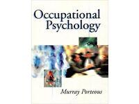 Occupational Psychology by Murray Porteous - £10 Plus £2.60 P&P