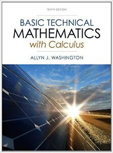 Basic Technical Mathematics with Calculus10th edition