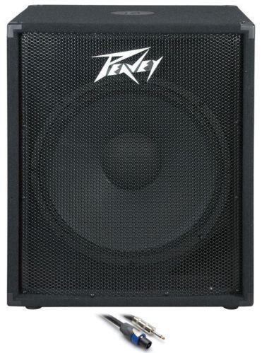peavey sub speakers monitors ebay. Black Bedroom Furniture Sets. Home Design Ideas