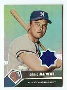 Eddie Mathews Jersey