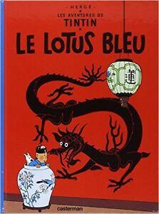 LE LOTUS BLEU TINTIN 1982 COMME NEUF TAXES INCLUSES