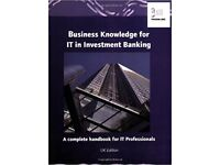 Business Knowledge for IT Investment Banking