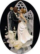 Black Wedding Cake Toppers