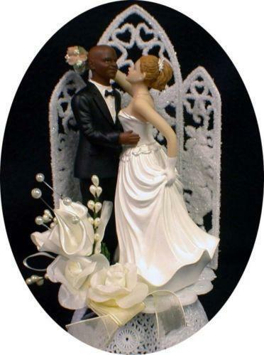 wedding cake toppers african american bride and groom black wedding cake toppers ebay 26375