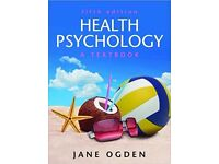 Health Psychology: A Textbook (UK Higher Education OUP Psychology), Jane Ogden