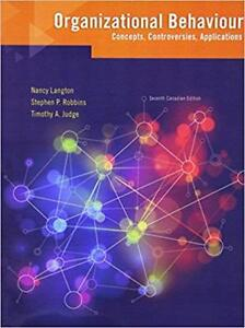 HR textbook - Organizational Behaviour  (7th Edition) Langton