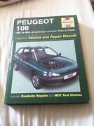 Haynes Manual Peugeot