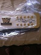 Shawn Michaels Signed Belt