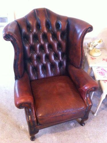 High Back Chesterfield Sofa Ebay