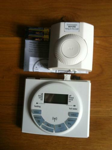 Worcester Wireless Thermostat Ebay