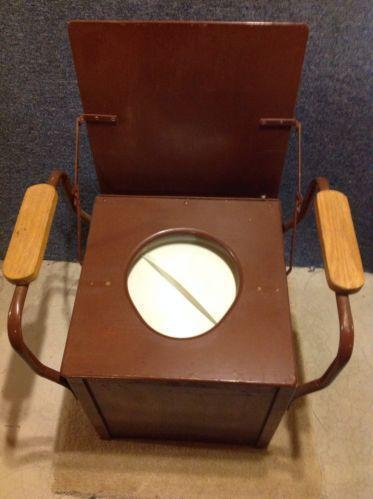 Antique Potty Chair | eBay