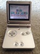 Nintendo Game Boy Advance SP Silver Handheld