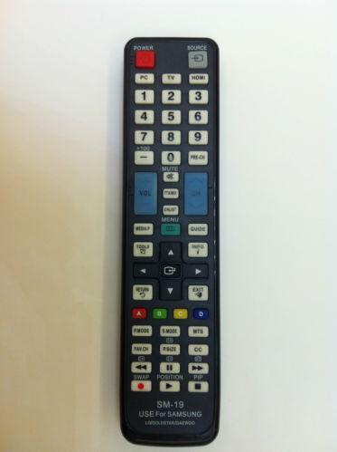 samsung tv universal remote control ebay. Black Bedroom Furniture Sets. Home Design Ideas