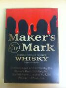 Makers Mark Sign