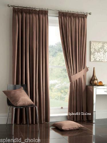 Black Blackout Bedroom Curtains