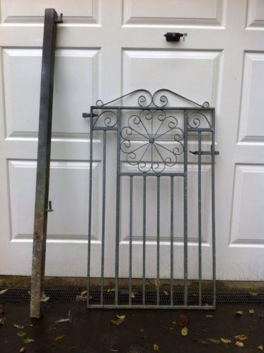 Galvanised Garden Gate Ebay
