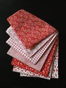 Red Fat Quarter Bundle