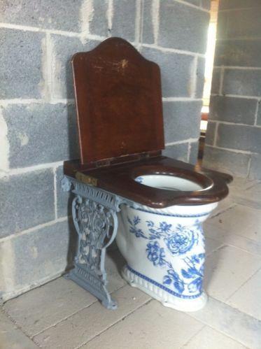 Victorian Toilet Seat Ebay