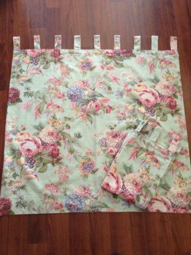 Cabbage Rose Curtains Ebay