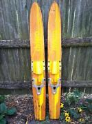 Wood Water Skis