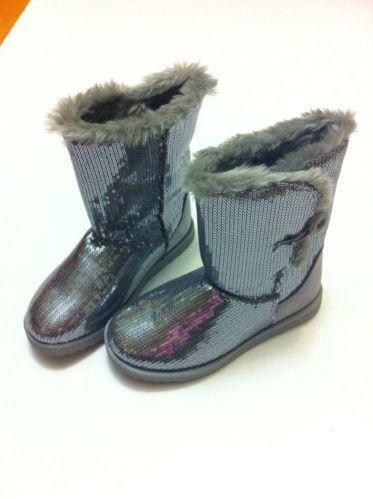 Girls Sequin Boots  e8f2433c2916