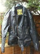 Used Leather Motorcycle Jacket