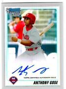 Anthony Gose Auto