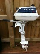 Used Evinrude Outboard Engine