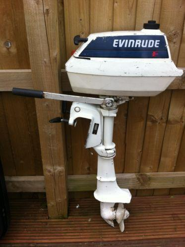 Used Evinrude Outboard Engine Ebay
