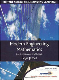 Modern Engineering Mathematics by Glyn James (fourth edition)