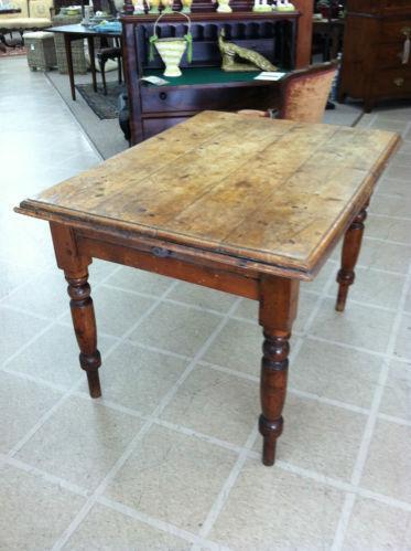 Antique Harvest Table Ebay