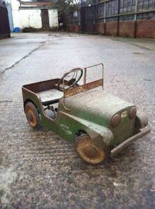 WANTED: antique pedal car, tractor, scooter, wagon, tin toys etc London Ontario image 3