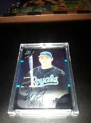 Billy Butler Bowman Chrome Auto