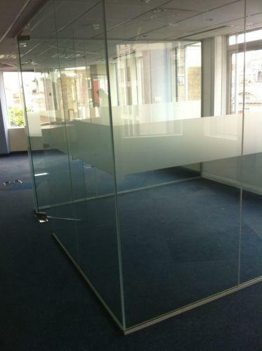 Glass partition ebay - Bathroom glass partition designs ...
