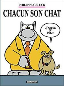 CHACUN SON CHAT J'ADORE LE MIEN PHILIPPE GELUCK ÉTAT NEUF