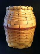 Tall Wicker Basket