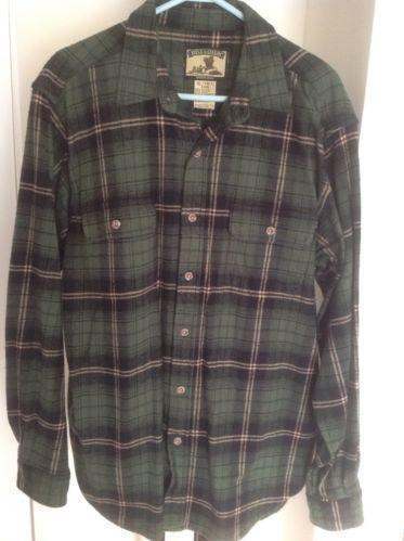 Mens large tall flannel shirt ebay for Large tall flannel shirts