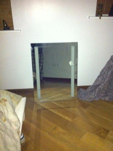 heated bathroom mirror ebay. Black Bedroom Furniture Sets. Home Design Ideas