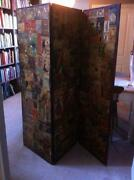 Antique Folding Screen
