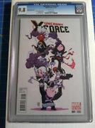 Uncanny X-force 1 CGC