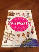 Wii Instruction Manual
