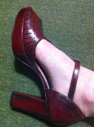 1303ff42fb9 Vintage Platform Shoes