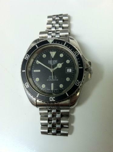 Mens vintage heuer watches ebay for Watches on ebay