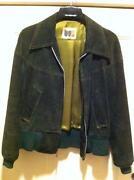 Mens Vintage Suede Jacket