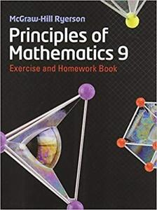 Principles of Mathematics 9 Workbook | SHIPPING AVAILABLE