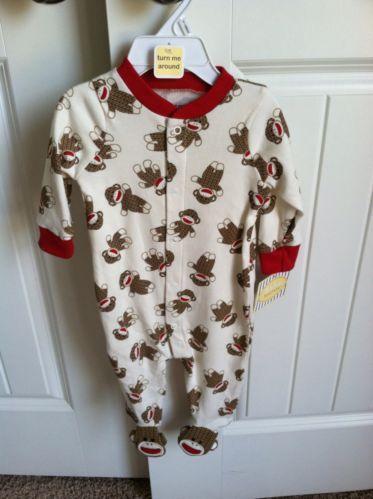 Sock Monkey Baby Clothes Ebay