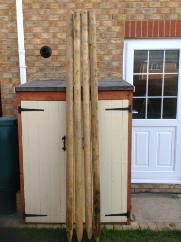 Wooden Fence Posts Ebay