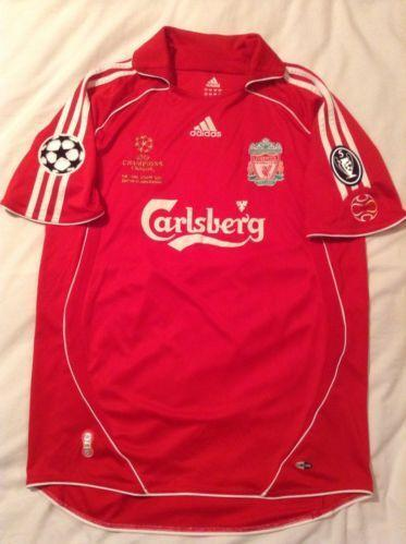 fef0b0bab Liverpool Champions League Shirt
